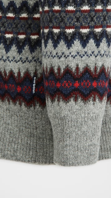 Barbour Barbour Case Fair Isle Crew Sweater
