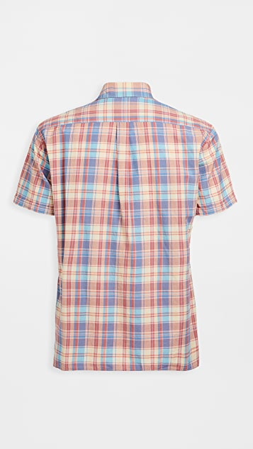 Barbour Summer Madras Short Sleeve Shirt