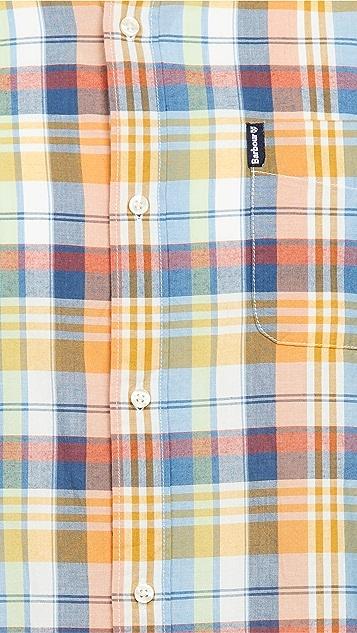 Barbour Summer Madras Long Sleeve Shirt