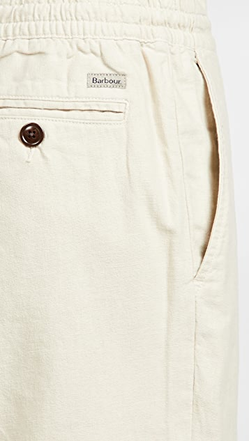Barbour Linen Shorts