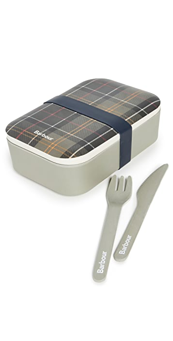 Barbour Barbour Lunch Box & Cutlery