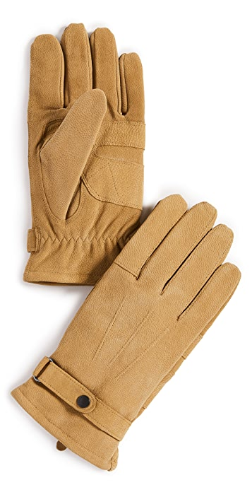 Barbour Barbour Leather Thinsulate Gloves