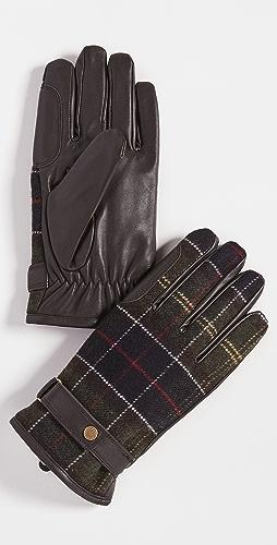 Barbour - Barbour Newbrough Tartan Gloves