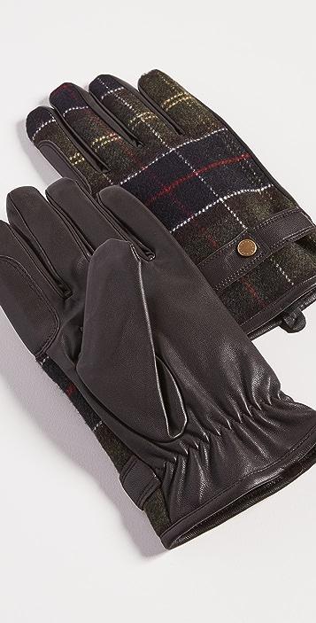 Barbour Barbour Newbrough Tartan Gloves