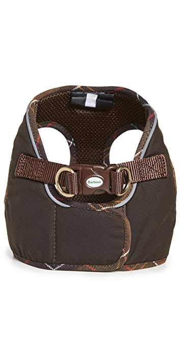 Barbour Wax Step-In Dog Harness