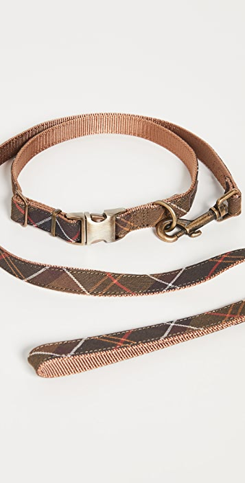 Barbour Tartan Webbing Collar