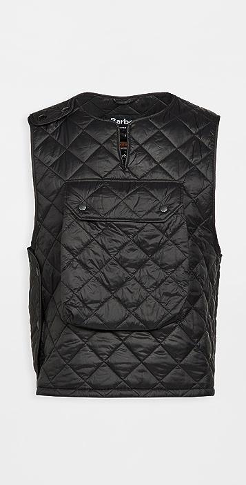 Barbour x Engineered Garments Pop Quilted Vest