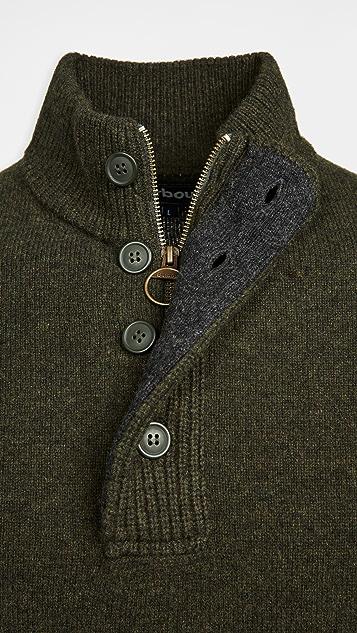 Barbour Barbour Patch Half Zip Sweater