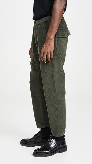 Barena Venezia Trabaco Corduroy Fatigue Trousers