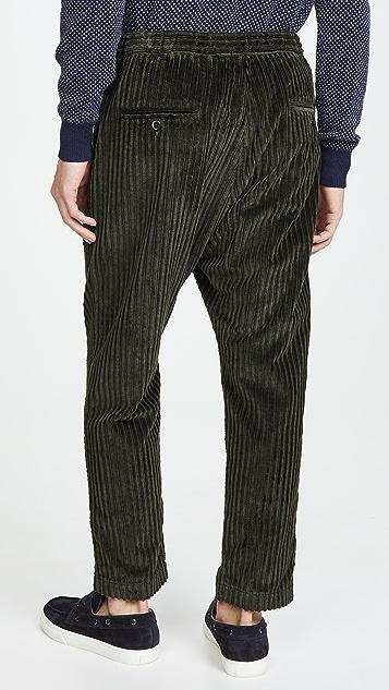 Barena Venezia Arenga Wide Wale Corduroy Trousers