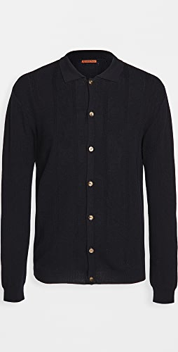 Barena Venezia - Sorada Wool Long Sleeve Polo Shirt