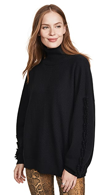 Barrie Long Sleeve Cashmere Pullover