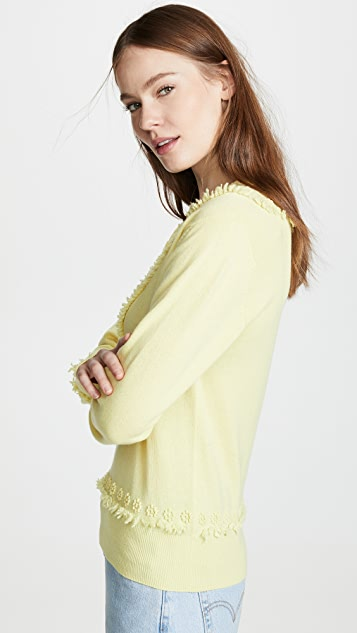 Barrie V Neck Cashmere Sweater