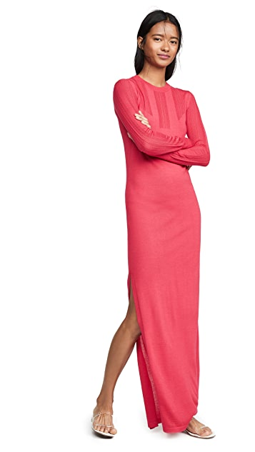Barrie Bodycon Cashmere Sweater Dress