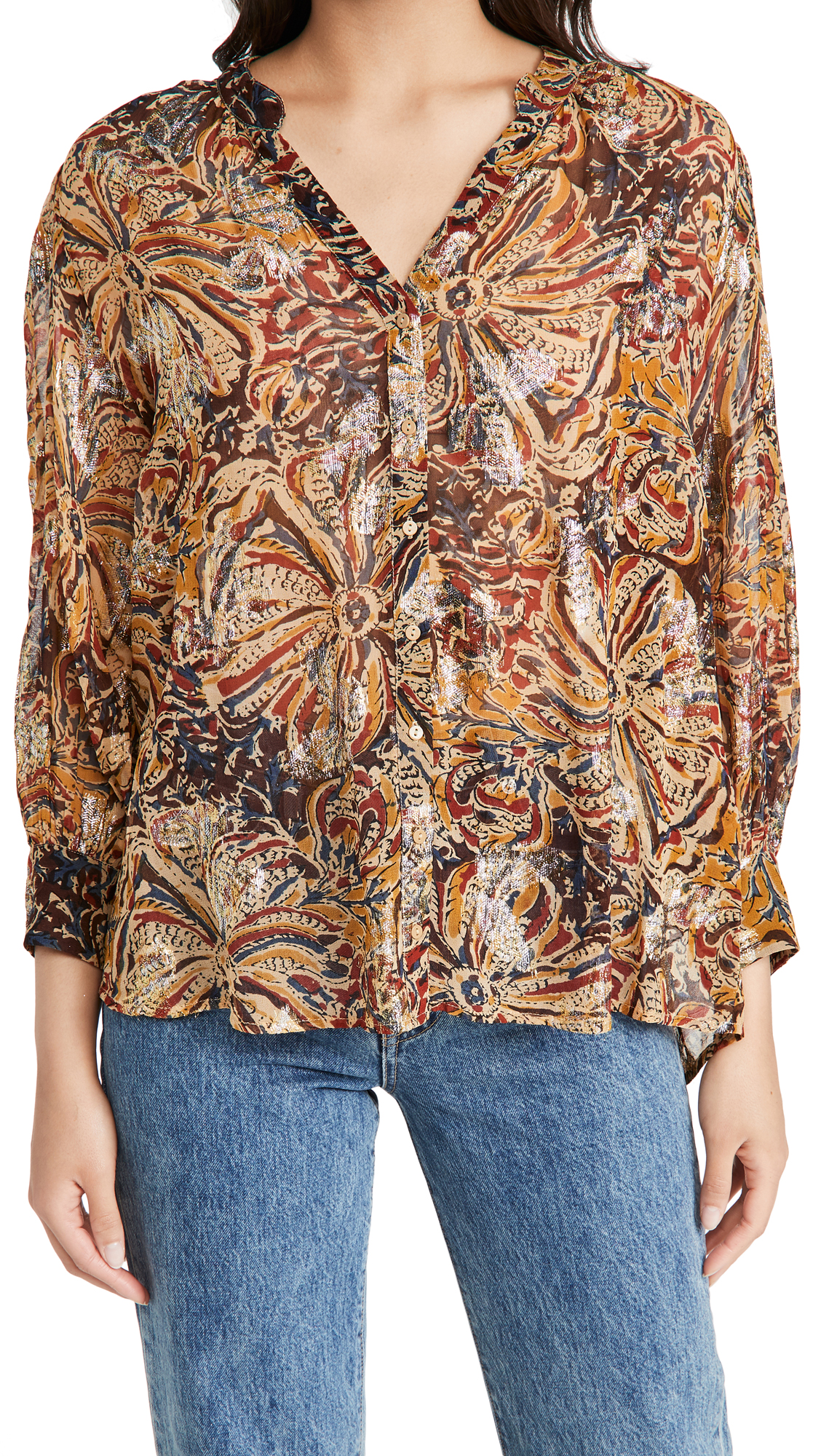 Ba & sh Quincy Blouse