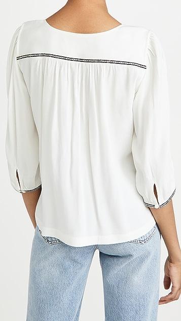 Ba&sh Amber 女式衬衫