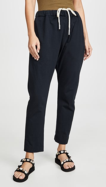 Bassike Double Jersey Long Rise Pants