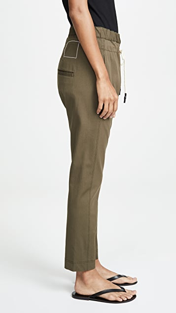 Bassike Stretch Relaxed Pants