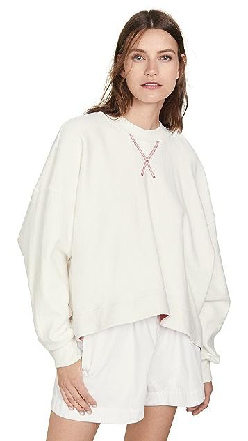 Bassike Side Split Sweatshirt