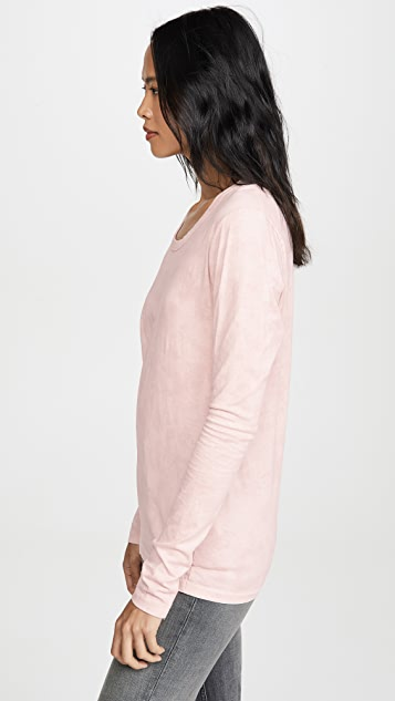Bassike Fitted Long Sleeve Tee