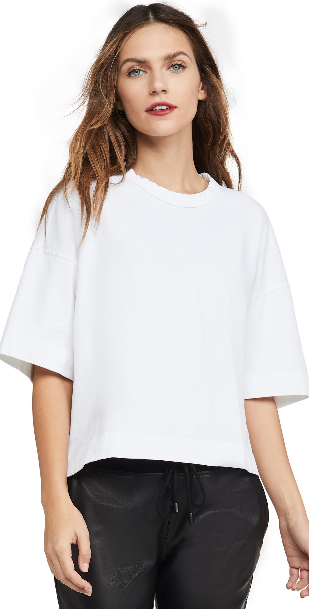 Double Jersey Boxy T-Shirt