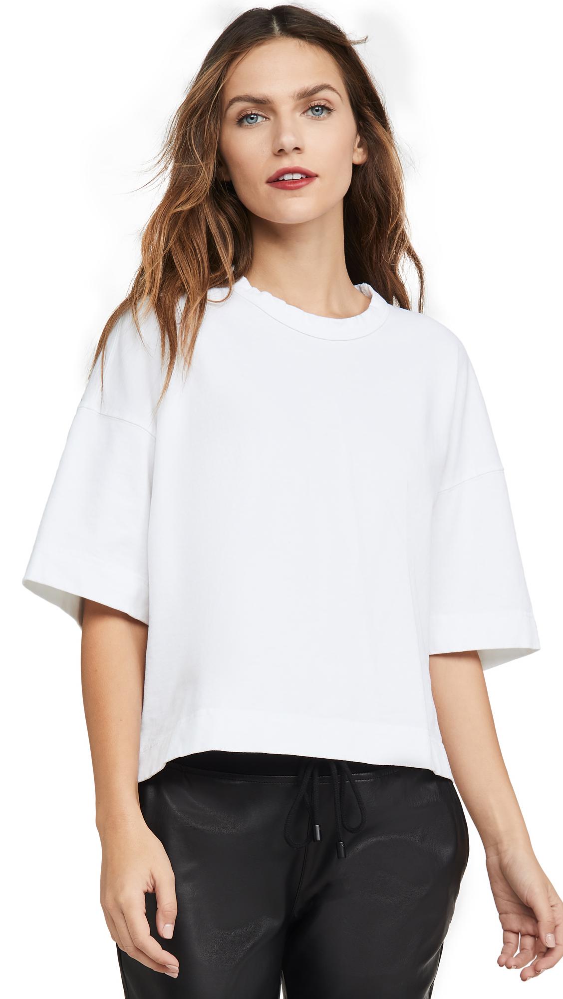 Bassike Double Jersey Boxy T-Shirt