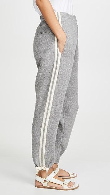 Bassike Reverse Fleece Track Pants
