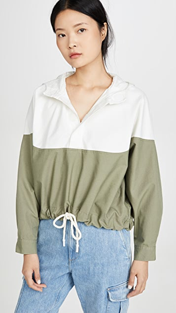 Bassike Contrast Anorak Jacket