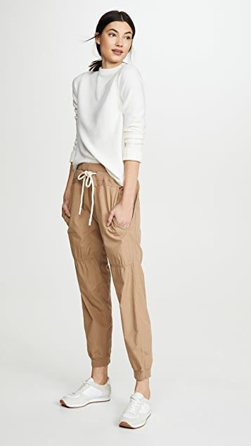 Bassike Utility Cotton Jersey Pants