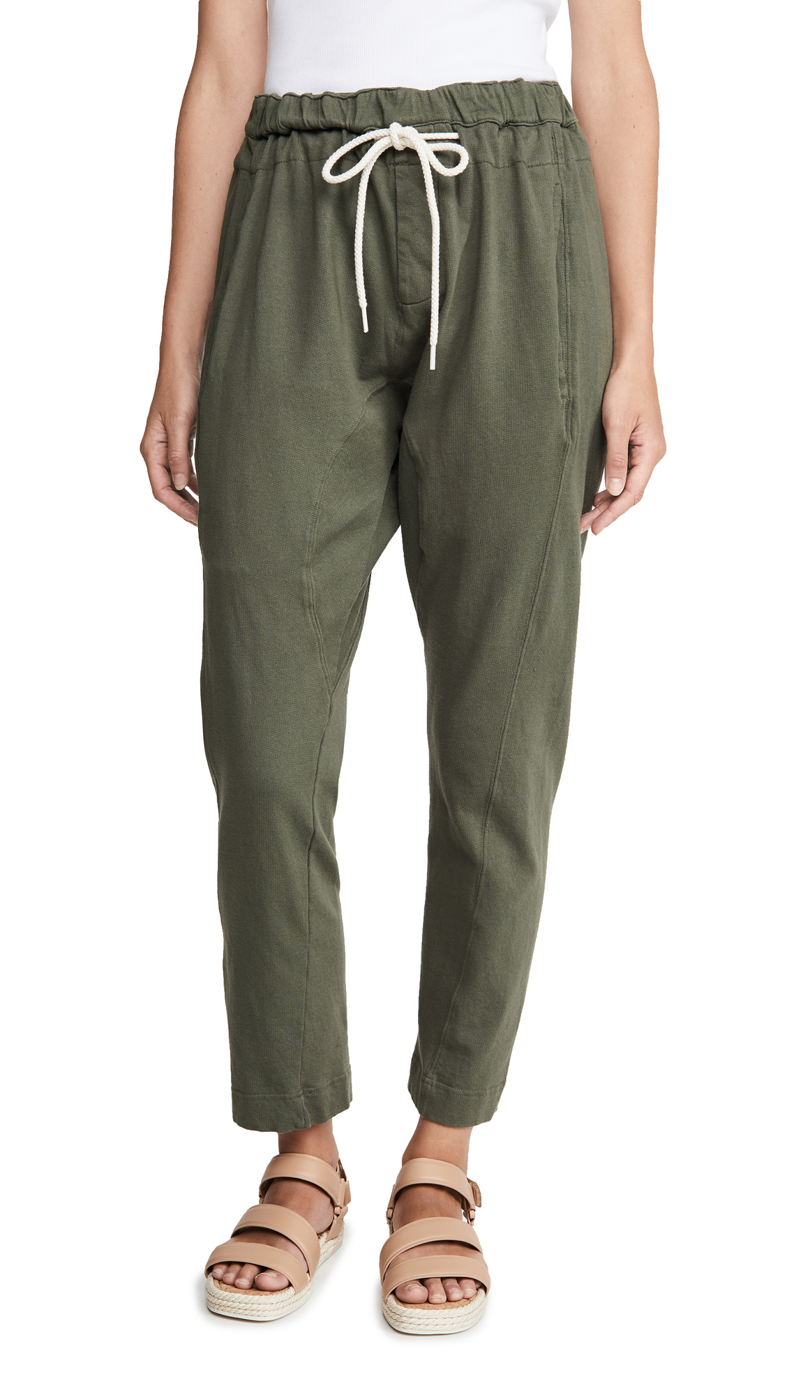 Bassike French Terry Relaxed Pant II