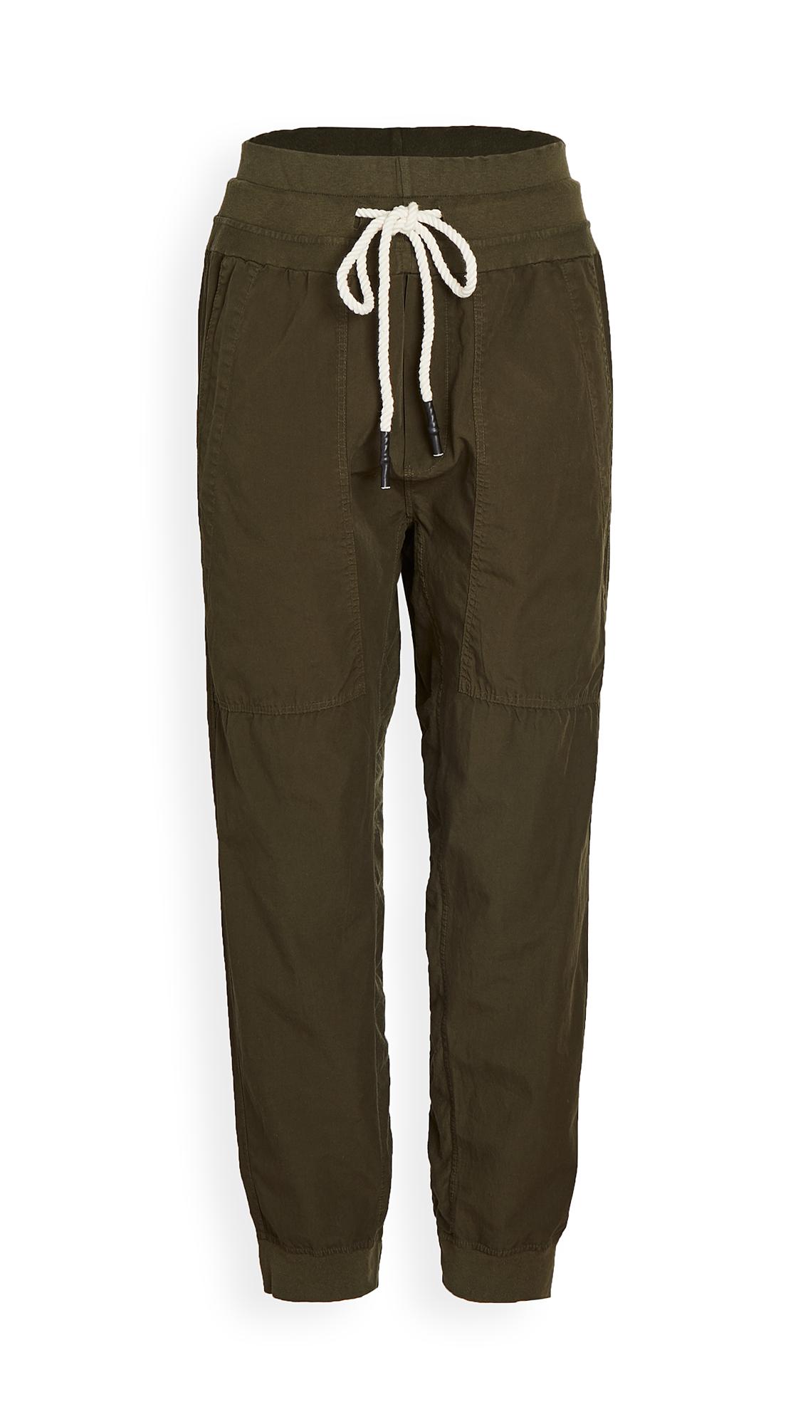 Bassike Utility Cotton Jersey Pants