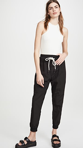 牛仔半裙 实穿棉质长裤