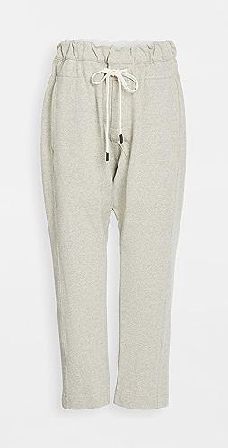 Bassike - Fleece Relaxed Pants