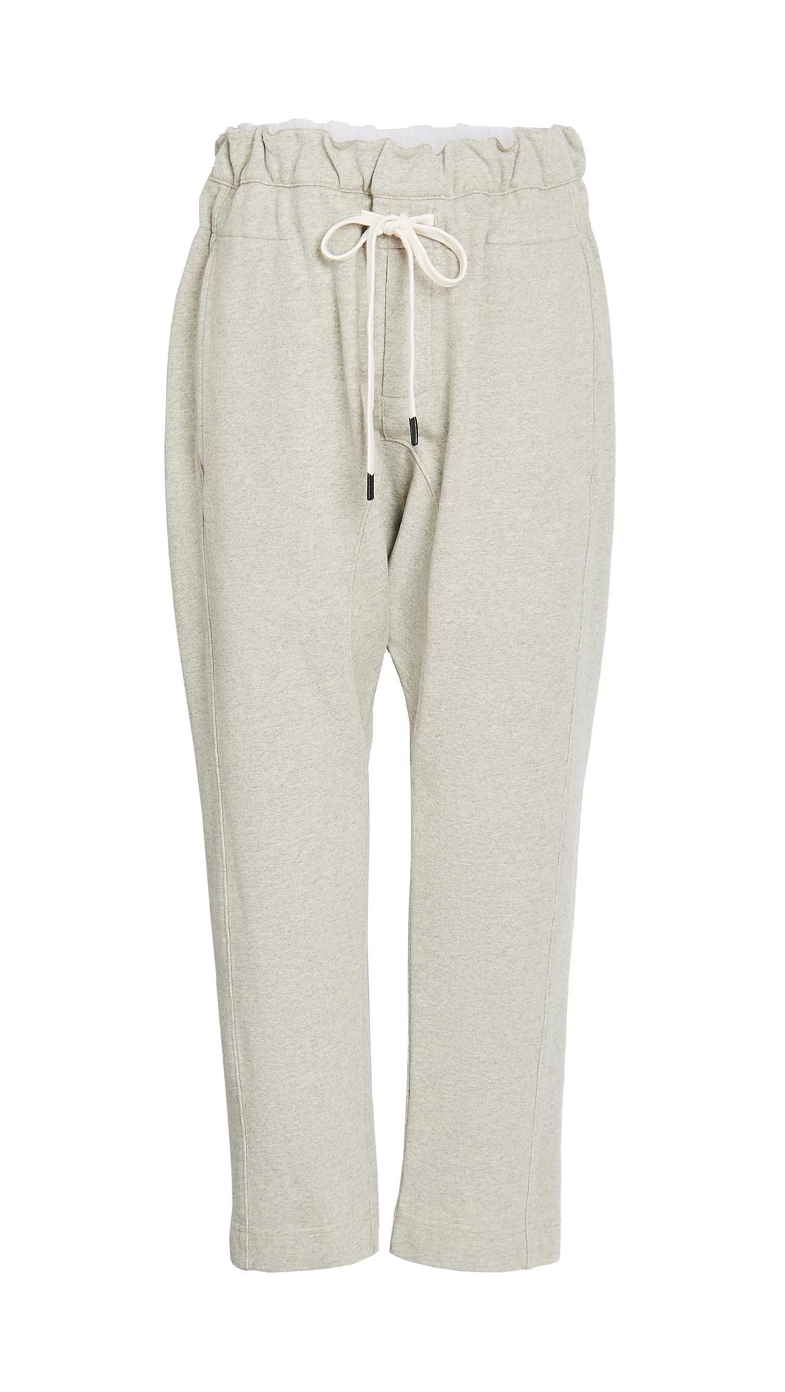 Bassike Fleece Relaxed Pants