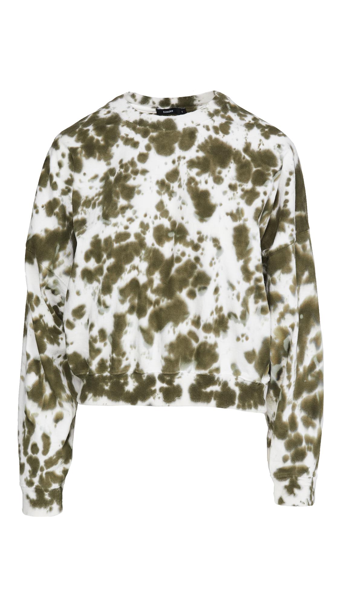 Bassike Cropped Double Jersey Sweatshirt