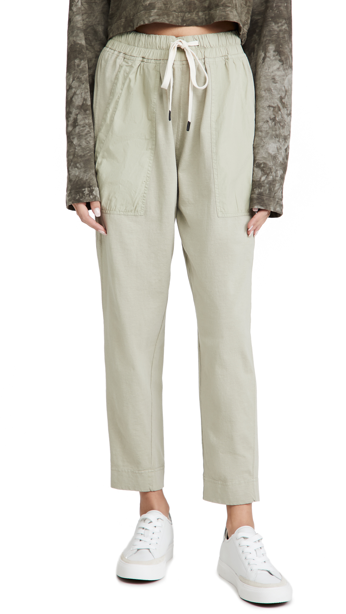 Bassike Double Jersey Contrast Tapered Pants