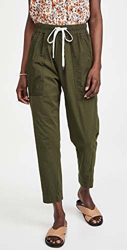 Bassike - Double Jersey Contrast Tapered Pants