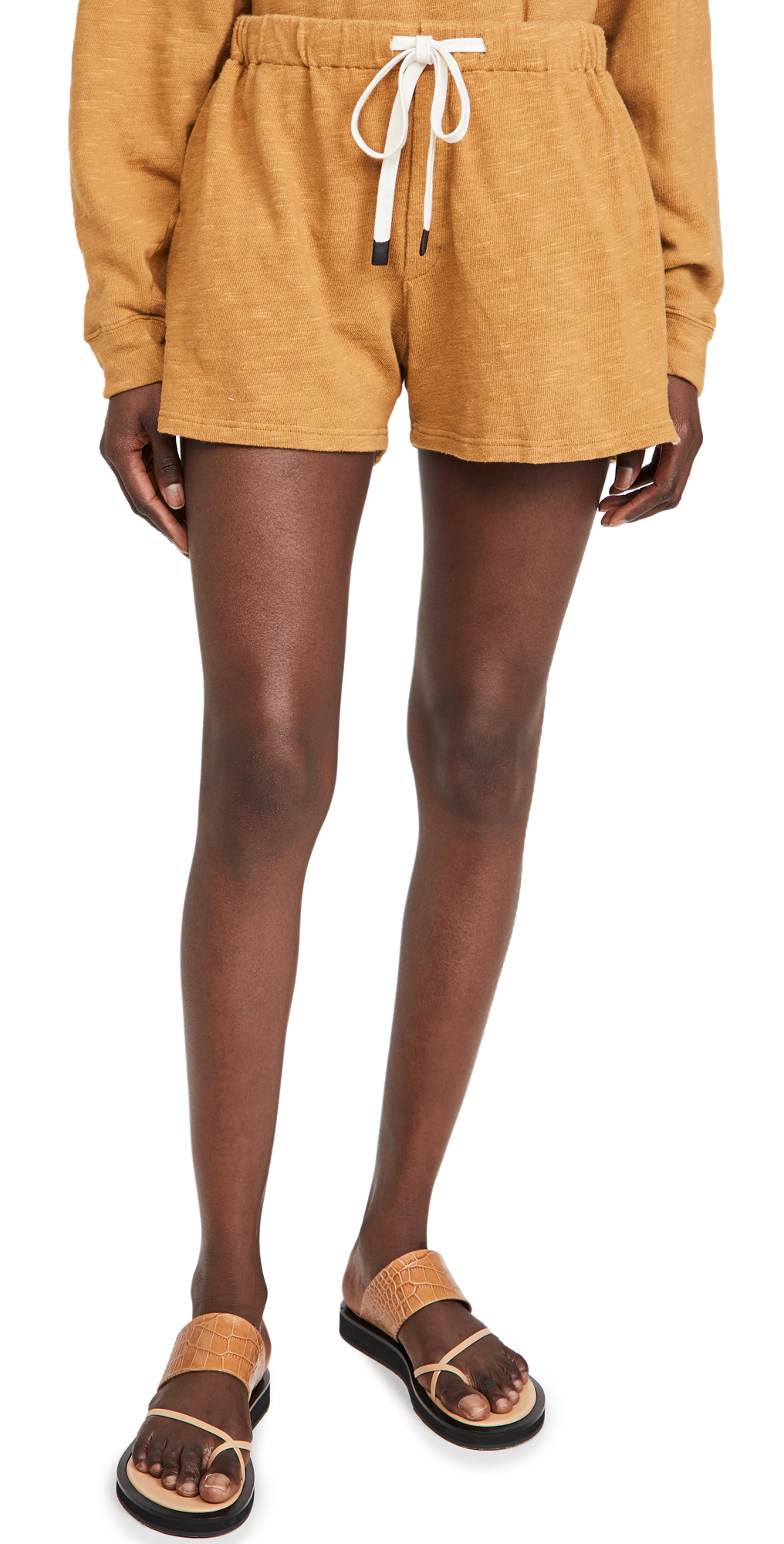 Slub Rib Athletic Beach Shorts