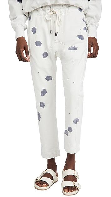 Bassike Splatter Tie Dye Relaxed Pants