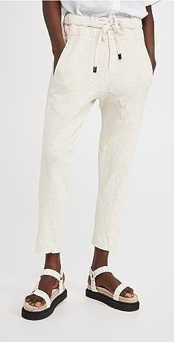 Bassike - 竹节纹罗纹休闲裤