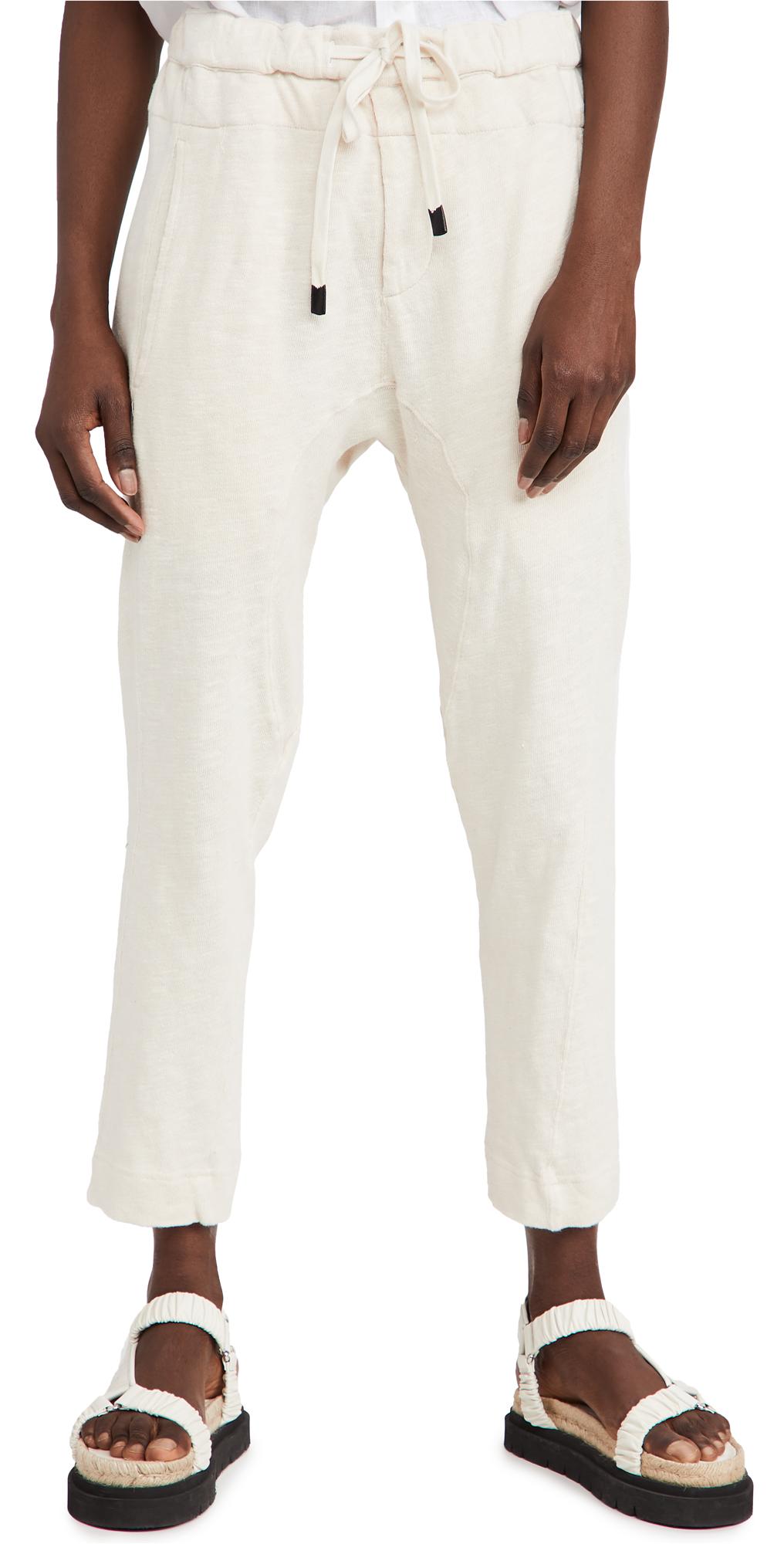 Slub Rib Relaxed Pants