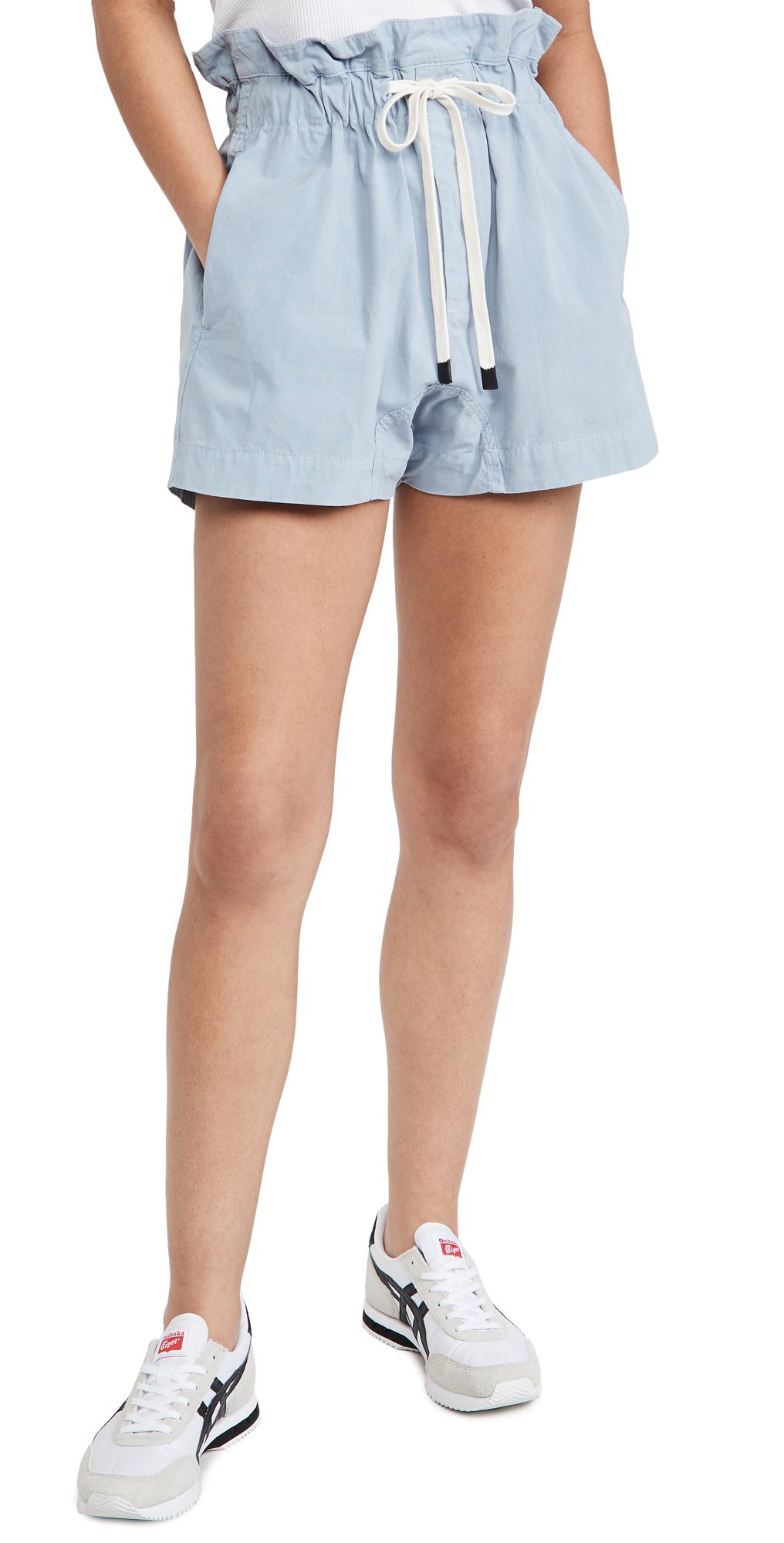Canvas Paperbag Shorts