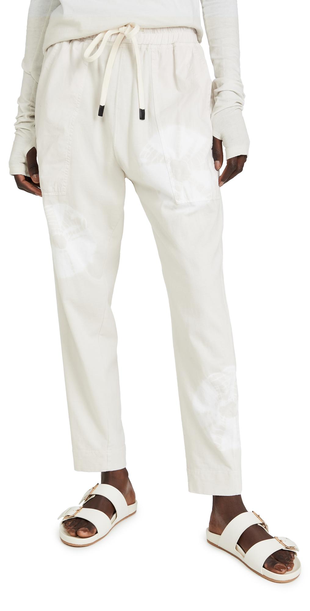 Karamatsu Print Double Jersey Pants