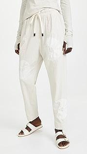 Bassike Karamatsu Print Double Jersey Pants