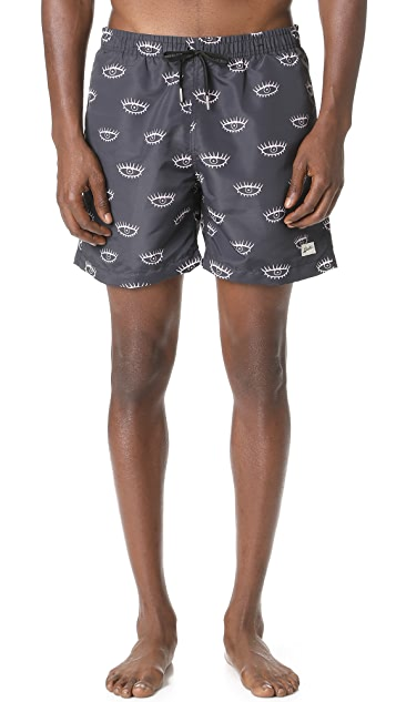 Bather Eyes Swim Trunks