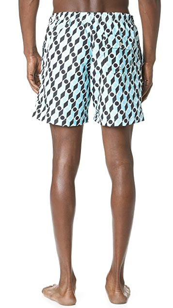 Bather Mod Swim Trunks