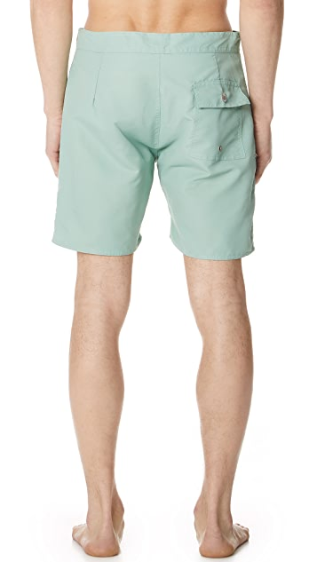 Bather Solid Swim Surf Trunks