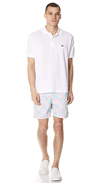 Bather Multi Coral Swim Trunks