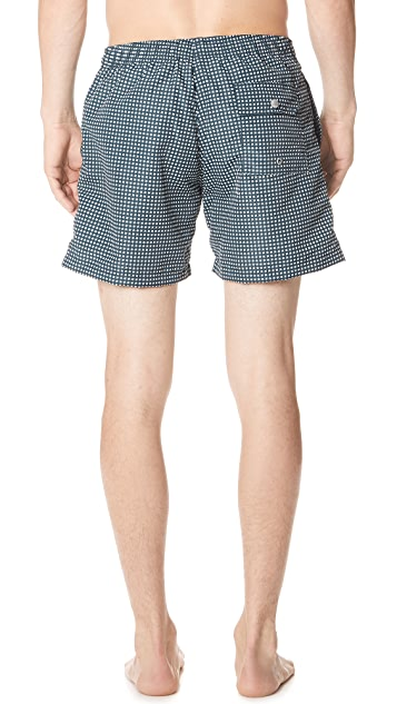 Bather Geo Swim Trunks
