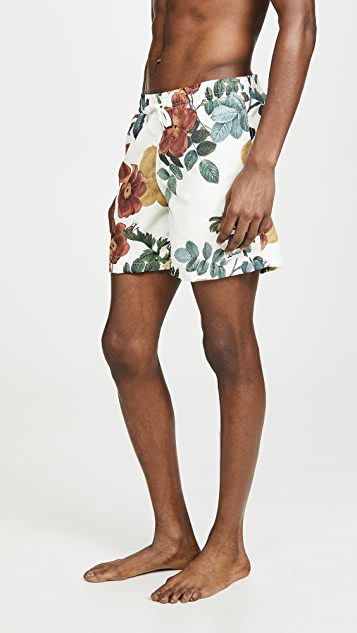 Bather Daytime Bouquet Print Swim Shorts